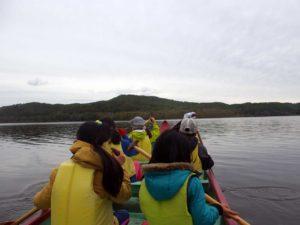 カヌーから見た釧路湿原